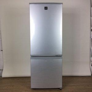 【送料無料】SHARP シャープ 冷蔵庫 SJ-PD17W-S 2012年製【中古】