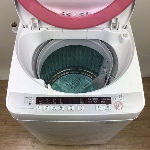 【送料無料】SHARP(シャープ)洗濯機2014年ES-GE60P【中古】