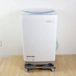 【送料無料】SHARP(シャープ)洗濯機2015年ES-GE55P【中古】