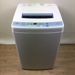 【送料無料】AQUA(アクア)洗濯機2016年AQW-S60D【中古】