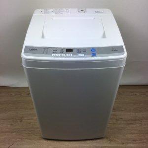 【送料無料】AQUA(アクア)洗濯機2016年AQW-S45D【中古】