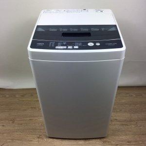 【送料無料】AQUA(アクア)洗濯機2018年AQW-BK45G【中古】