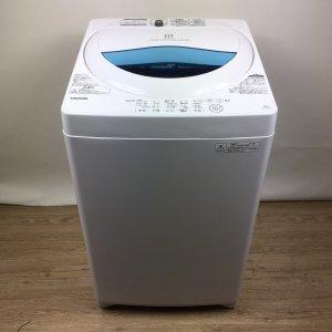 【送料無料】東芝TOSHIBA洗濯機2017年製 TOSHIBA AW-5G5(W) 【中古】