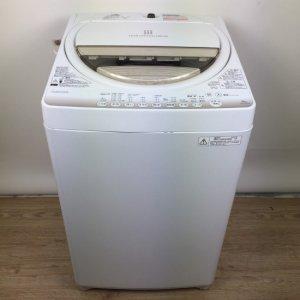【送料無料】東芝TOSHIBA洗濯機2015年AW-6G2(W)【中古】