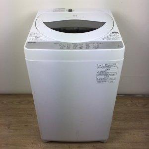 【送料無料】東芝TOSHIBA洗濯機2019年製 TOSHIBA AW-5G6(W) 【中古】