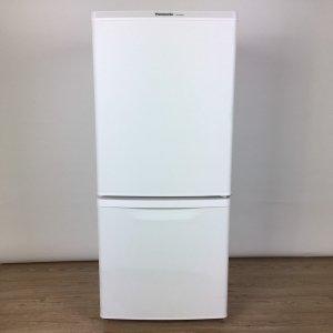 【送料無料】パナソニック冷蔵庫2018年NR-B14BW-W【中古】