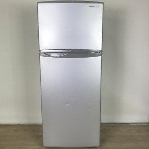 【送料無料】 SHARPシャープ冷蔵庫 SJ-H12W-S 2012年【中古】