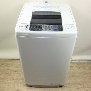 【送料無料】HITACHI(日立)洗濯機2017年NW-70A【中古】
