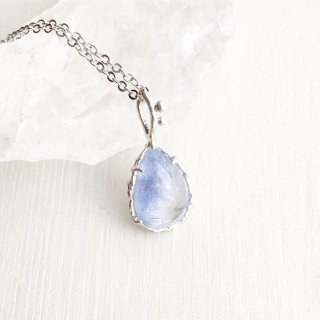 Dumortierite Quartz Necklace