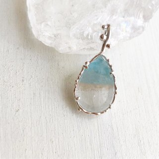 Paraiba Quartz Necklace