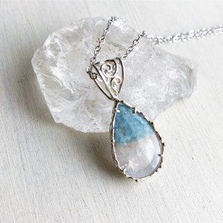 Paraiba Quartz Necklace