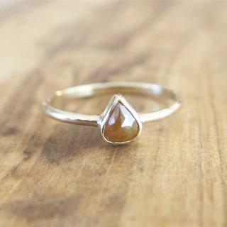 ナチュラルダイヤモンド K14 Ring