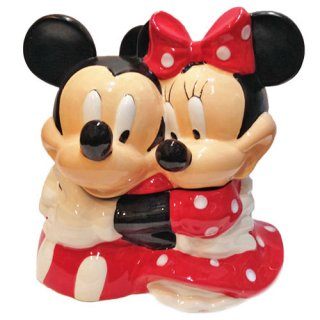 ディズニー ミッキーマウス&ミニーマウス クッキージャー  DISNEY