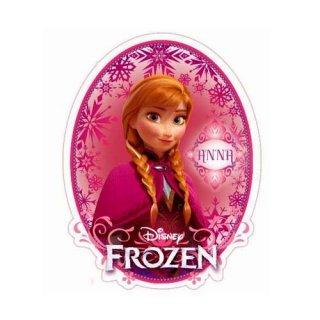 ディズニー アナと雪の女王 ダイカットステッカー アナ DISNEY