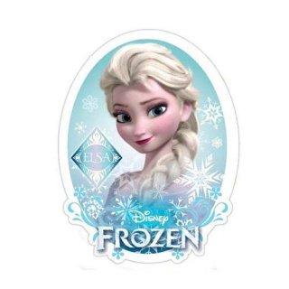 ディズニー アナと雪の女王 ダイカットステッカー エルサ DISNEY