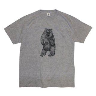 AMOS TOYS BIG BEAR TEE グレー Tシャツ