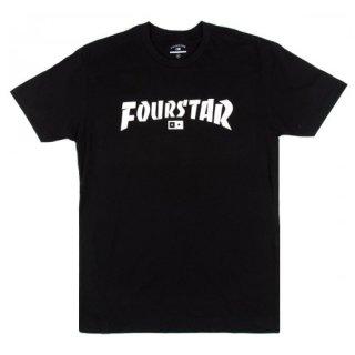 FOURSTAR Tシャツ HIGHSPEED TEE ハイスピード ブラック フォースター