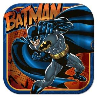 DCコミック バットマン 8pcペーパープレート Lサイズ DC COMICS