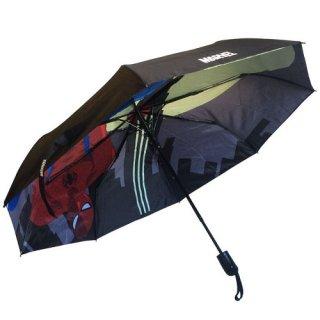マーベル スパイダーマン ワンタッチ自動展開 折りたたみ傘 MARVEL