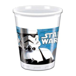 スター・ウォーズ 8pcプラスチックカップ ストームトルーパー STAR WARS