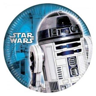 スター・ウォーズ 8pcペーパープレート R2-D2 STAR WARS