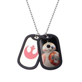 スター・ウォーズ BB-8 ダブルドッグタグ ペンダント ネックレス STAR WARS