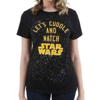 スター・ウォーズ Let's Cuddle レディースTシャツ  STAR WARS