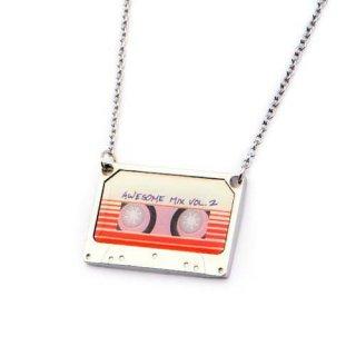 マーベル ガーディアンズ・オブ・ギャラクシー カセットテープ型ネックレス Awesome Mix Vol.2 MARVEL