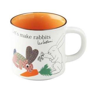 レオ・レオニ マグカップ Let's Make Rabbits うさぎをつくろう ラビット Leo Lionni