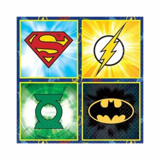 DCコミック ジャスティス・リーグ 16pcペーパーナプキン JUSTICE LEAGUE DC COMICS