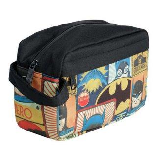 DCコミック バットマン レトロ ドップキット バッグ ポーチ ダークナイト Dopp Kit DC COMICS