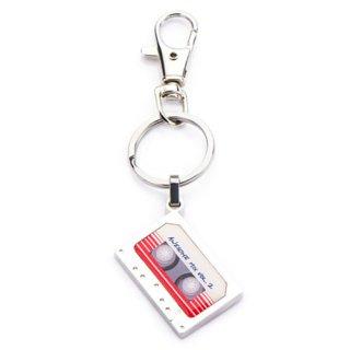 マーベル ガーディアンズ・オブ・ギャラクシー カセットテープ型 キーリング MARVEL