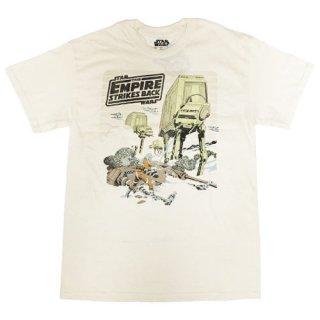 スター・ウォーズ エピソード5 Hoth Battle AT-ATウォーカー Tシャツ STAR WARS 帝国の逆襲