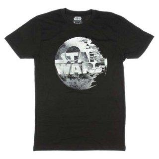 スター・ウォーズ デス・スター ロゴ Tシャツ STAR WARS