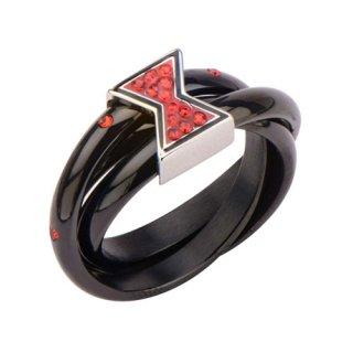 マーベル ブラック・ウィドウ トリプルリング 指輪 MARVEL
