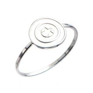 マーベル キャプテン・アメリカ シールド ポリッシュリング 指輪 MARVEL