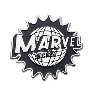 マーベルコミック Since1939 80周年記念 ロゴ ラペルピン MARVEL