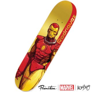 PRIMITIVE × MARVEL × MOEBIUS PAUL RODRIGUEZ IRON MAN DECK アイアンマン スケートボードデッキ プリミティブ マーベル