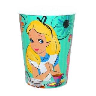 ディズニー 不思議の国のアリス パーティーカップ コップ DISNEY