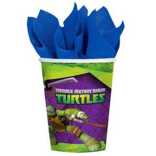 ミュータント・タートルズ 8pcペーパーカップ TMNT TURTLES