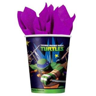 ミュータント・タートルズ unique 8pcペーパーカップ TMNT TURTLES