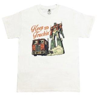 トランスフォーマー コンボイ keep on truckin' Tシャツ TRANSFORMERS サイバトロン