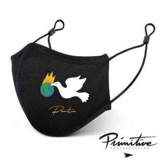 PRIMITIVE Healer MASK BLACK フェイスマスク ヒーラー ブラック ファッション プリミティブ アルミ製ノーズブリッジ