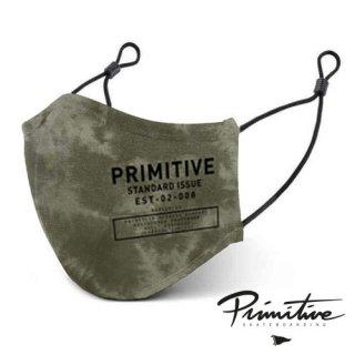 PRIMITIVE Standard MASK GREEN Tie-Dye フェイスマスク スタンダード グリーン タイダイ ファッション プリミティブ アルミ製ノーズブリッジ