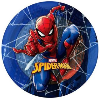 マーベル スパイダーマン 12PCペーパープレート Mサイズ 紙皿 MARVEL