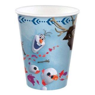 ディズニー アナと雪の女王2 8pcペーパーカップ 紙コップ DISNEY