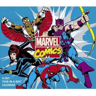 マーベルコミック 2021年 日めくりカレンダー マーベルヒーローズ 卓上カレンダー MARVEL