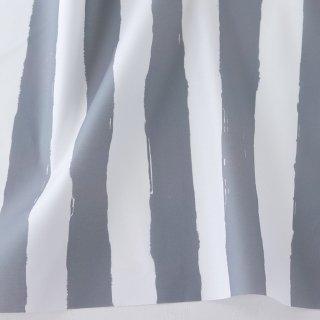 ペンキで塗ったストライプ(グレー)
