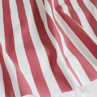 ベーシックストライプ(苺色)-和の伝統色ブックシリーズ-