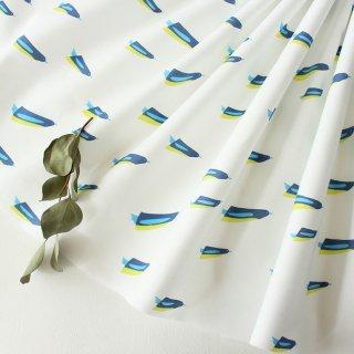 penguins swim(ホワイト×ネイビーブルー)